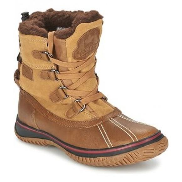 Details zu New Men`s Pajar CANADA Jordan Boots Cognac MSRP $165